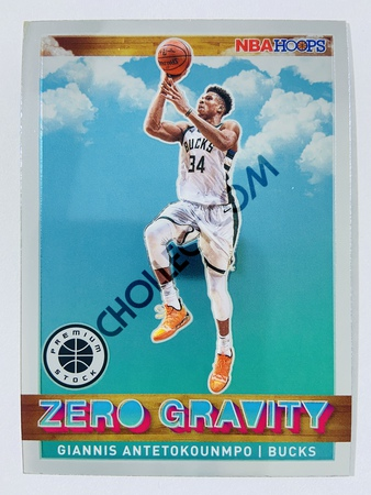 Giannis Antetokounmpo - Milwaukee Bucks 2019-20 Panini Hoops Premium Stock Zero Gravity Insert #6