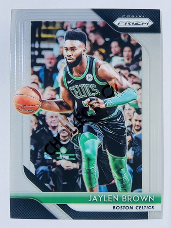 Jaylen Brown - Boston Celtics 2018-19 Panini Prizm Base Card #108