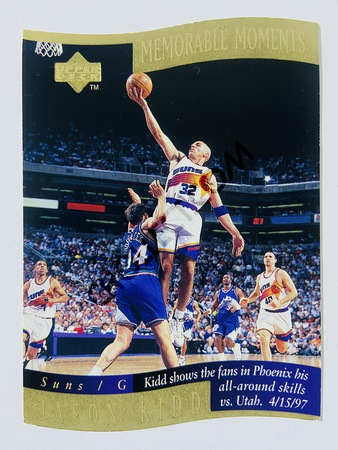 Jason Kidd - Phoenix Suns 1998 Upper Deck Memorable Moment #6