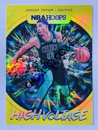 Jayson Tatum - Boston Celtics 2019-20 Panini Hoops High Voltage #25