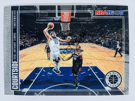Karl-Anthony Towns - Minnesota Timberwolves 2019-20 Panini Hoops Premium Stock Courtside Insert #8