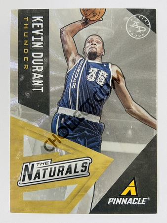Kevin Durant - Oklahoma City Thunder 2013-14 Panini Pinnacle The Naturals Artist Proof #14