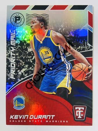 Kevin Durant - Golden State Warriors 2017-18 Panini Totally Certified Priority Mail #2
