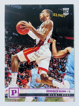 Kendrick Nunn - Miami Heat 2019-20 Panini Chronicles Panini Pink Parallel RC Rookie Card #106