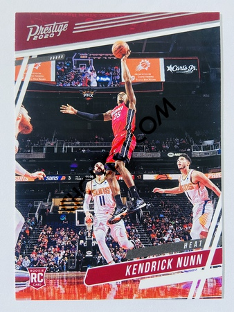 Kendrick Nunn - Miami Heat 2019-20 Panini Chronicles Prestige RC Rookie Card #300