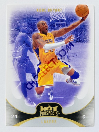 Kobe Bryant - Los Angeles Lakers 2008-09 Fleer Hot Prospects #13