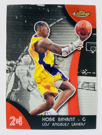 Kobe Bryant - Los Angeles Lakers 2008 Topps Finest #24