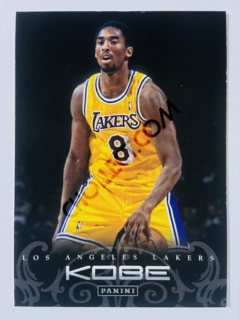 Kobe Bryant - Los Angeles Lakers 2012 Panini Kobe Anthology #6