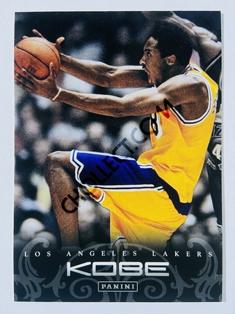 Kobe Bryant - Los Angeles Lakers 2012 Panini Kobe Anthology #12