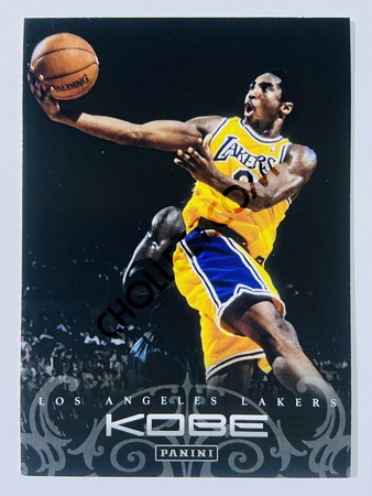Kobe Bryant - Los Angeles Lakers 2012 Panini Kobe Anthology #13