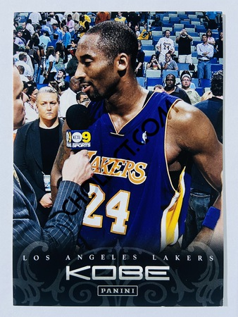 Kobe Bryant - Los Angeles Lakers 2012 Panini Kobe Anthology #139