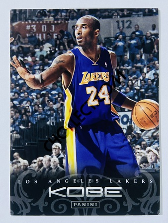 Kobe Bryant - Los Angeles Lakers 2012 Panini Kobe Anthology #177