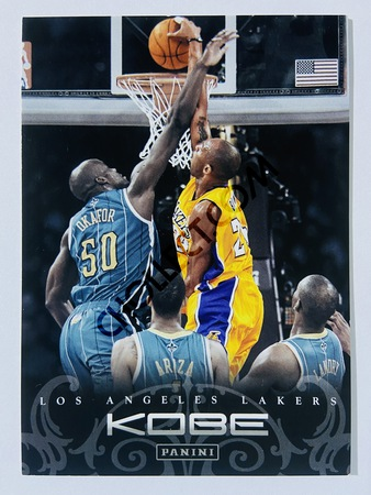 Kobe Bryant - Los Angeles Lakers 2012 Panini Kobe Anthology #186