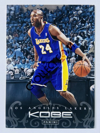 Kobe Bryant - Los Angeles Lakers 2012 Panini Kobe Anthology #187