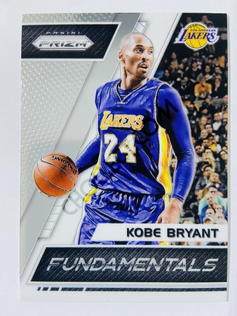 Kobe Bryant - Los Angeles Lakers 2017-18 Panini Prizm Fundamentals #2