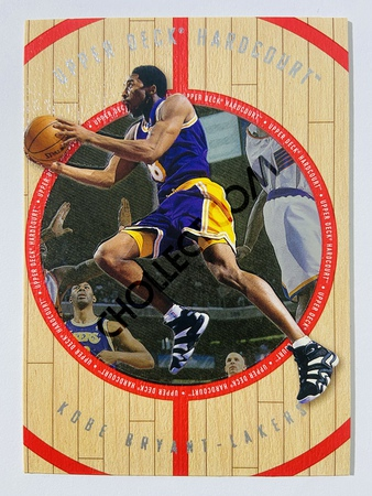 Kobe Bryant - Los Angeles Lakers 1998 Upper Deck Hardcourt #8-G