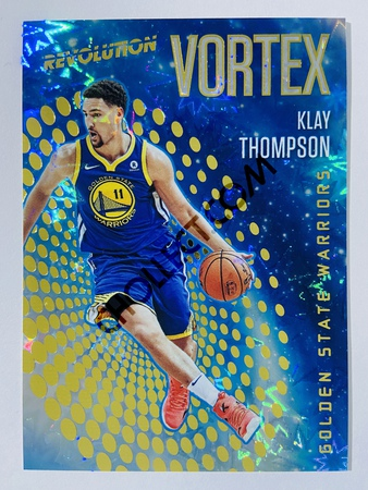 Klay Thompson - Golden State Warriors 2017-18 Panini Revolution Vortex Impact Insert #18