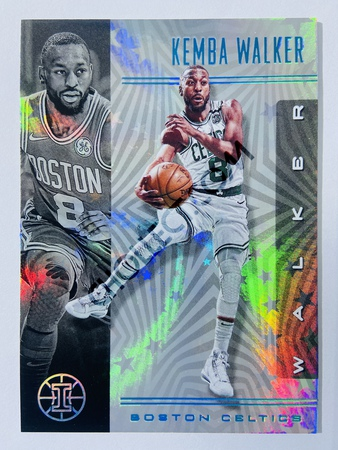 Kemba Walker - Boston Celtics 2019-20 Panini Illusions Starlight Parallel #111