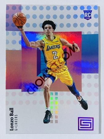 Lonzo Ball - Los Angeles Lakers 2017-18 Panini Status RC Rookie Card #118