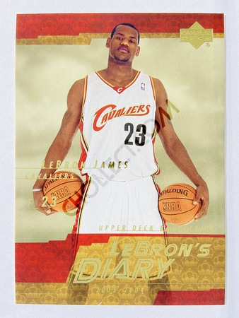 LeBron James - Los Angeles Lakers 2003-04 Upper Deck Lebron's Diary #LJ8