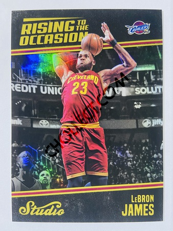 LeBron James - Cleveland Cavaliers 2016-17 Panini Studio Rising to the Occasion #RO-LJ