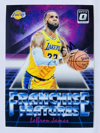 LeBron James - Los Angeles Lakers 2018-19 Panini Donruss Optic Franchise Feature Insert #6