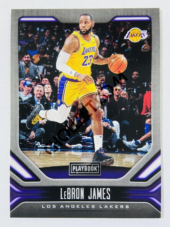 LeBron James - Los Angeles Lakers 2019-20 Panini Chronicles Playbook #176