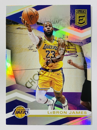 LeBron James - Los Angeles Lakers 2019-20 Panini Donruss Elite #87