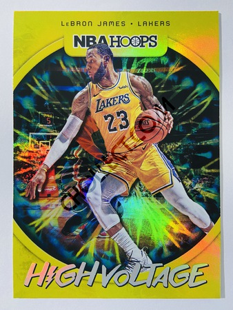LeBron James - Los Angeles Lakers 2019-20 Panini Hoops High Voltage #2