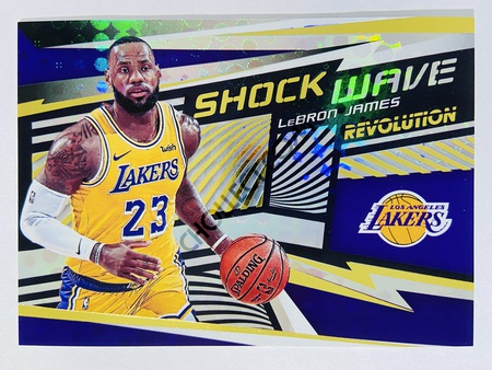 LeBron James - Los Angeles Lakers 2019-20 Panini Revolution Shock Wave #2