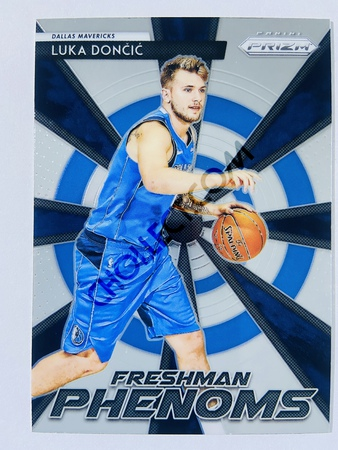 Luka Doncic - Dallas Mavericks 2018-19 Panini Prizm Freshman Phenoms Rookie Card #23