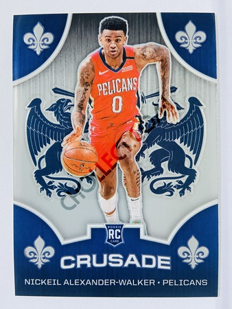 Nickeil Alexander-Walker - New Orleans Pelicans 2019-20 Panini Chronicles Crusade #527