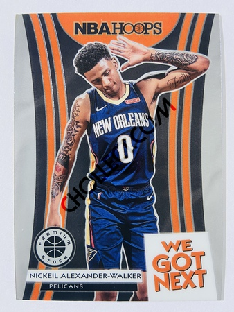 Nickeil Alexander-Walker - New Orleans Pelicans 2019-20 Panini Hoops Premium Stock We Got Next Insert #2