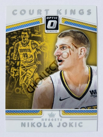 Nikola Jokic - Denver Nuggets 2017-18 Panini Donruss Optic Court Kings Insert #40