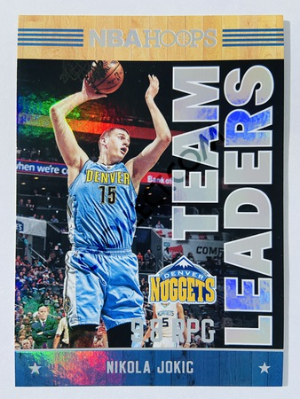 Nikola Jokic - Denver Nuggets 2017-18 Panini Hoops Team Leaders #28