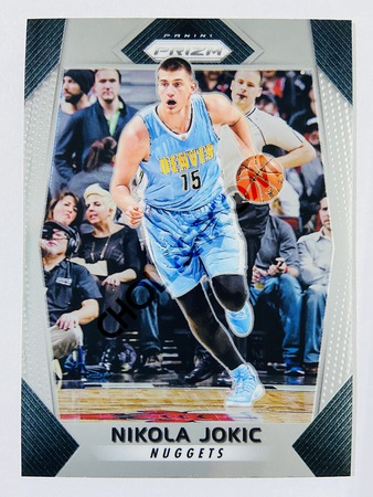 Nikola Jokic - Denver Nuggets 2017-18 Panini Prizm Base Card #166