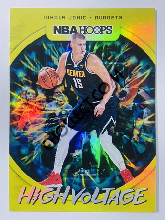 Nikola Jokic - Denver Nuggets 2019-20 Panini Hoops High Voltage #22