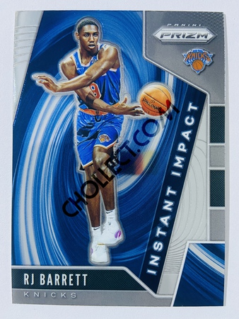 RJ Barrett - New York Knicks 2019-20 Panini Prizm Instant Impact Rookie Card #22