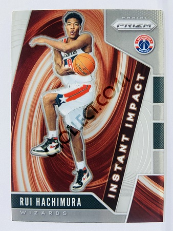 Rui Hachimura - Washington Wizards 2019-20 Panini Prizm Instant Impact Rookie Card #8