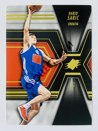 Dario Saric - Croatia 2014-15 Upper Deck SPX Base Card #53