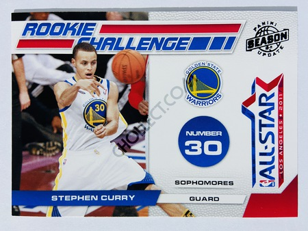 Stephen Curry - Golden State Warriors 2011 Panini Season Update Rookie Challenge #14
