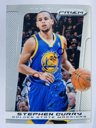 Stephen Curry - Golden State Warriors 2013-14 Panini Prizm Base Card #176