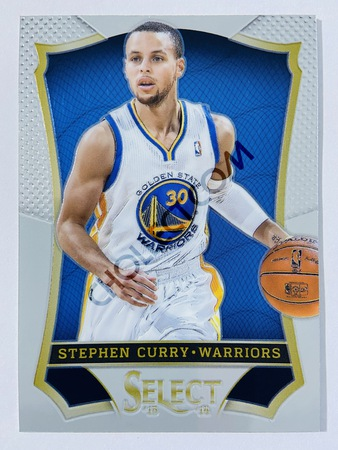Stephen Curry - Golden State Warriors 2013-14 Panini Select Base Card #86