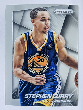 Stephen Curry - Golden State Warriors 2014-15 Panini Prizm Base Card #92