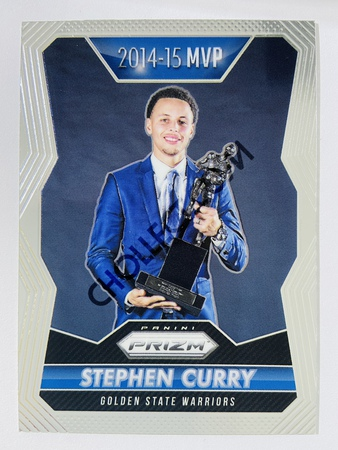 Stephen Curry - Golden State Warriors 2014-15 Panini Prizm MVP #400
