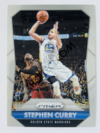 Stephen Curry - Golden State Warriors 2015-16 Panini Prizm Base Card #170