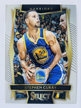 Stephen Curry - Golden State Warriors 2016-17 Panini Select Base Card #88