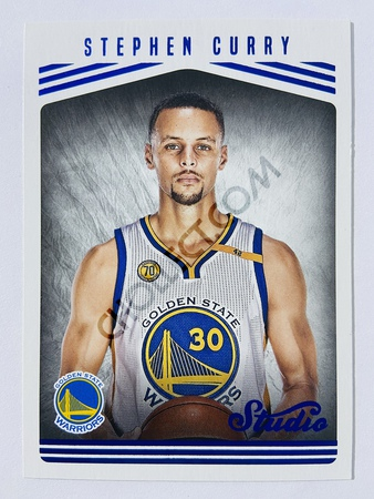 Stephen Curry - Golden State Warriors 2016-17 Panini Studio Base Portrait #101