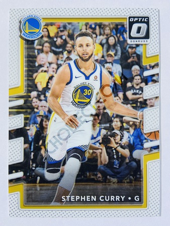 Stephen Curry - Golden State Warriors 2017-18 Panini Donruss Optic Base Card #46