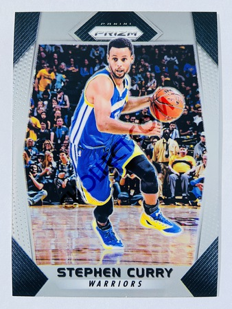 Stephen Curry - Golden State Warriors 2017-18 Panini Prizm Base Card #41